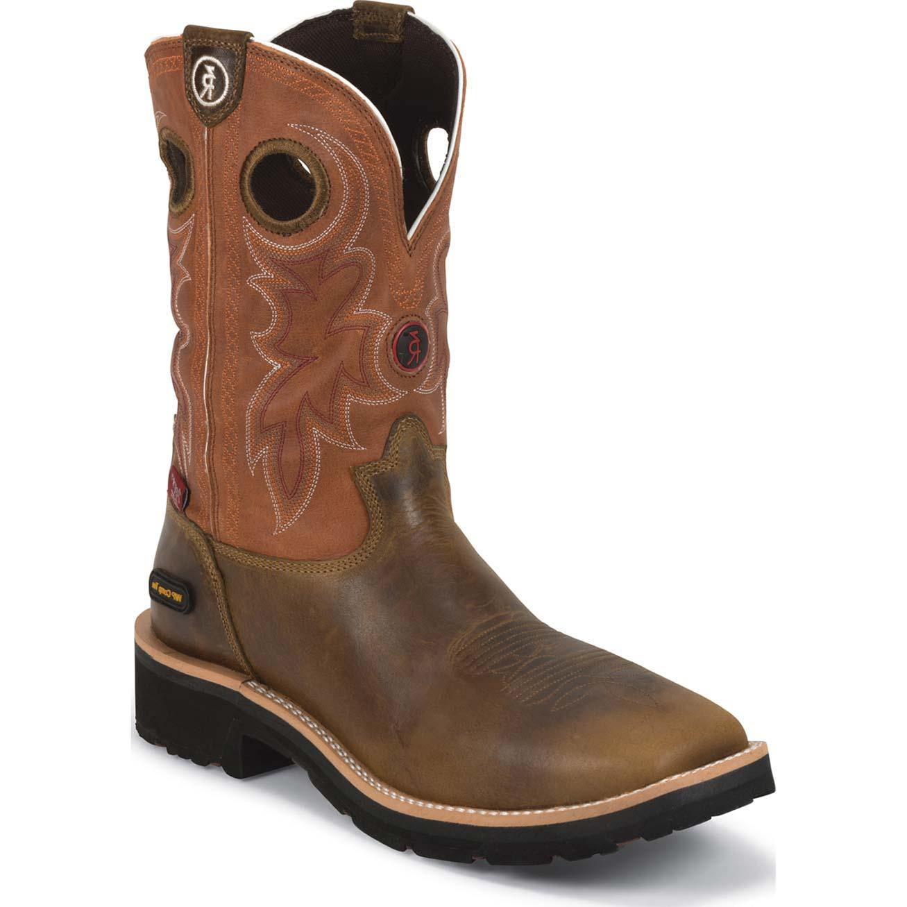 Tony Lama Composite Toe Western Waterproof Work Boots