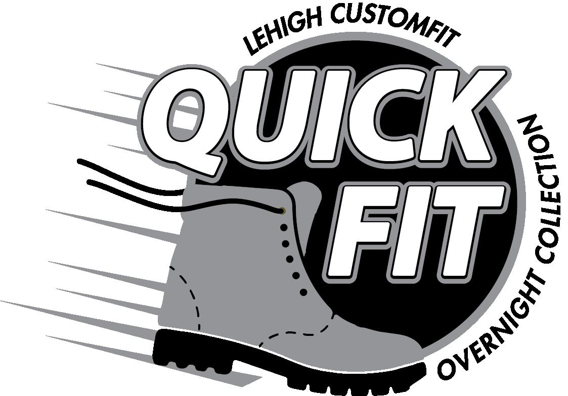 Lehigh CustomFit QuickFit Overnight Collection Logo