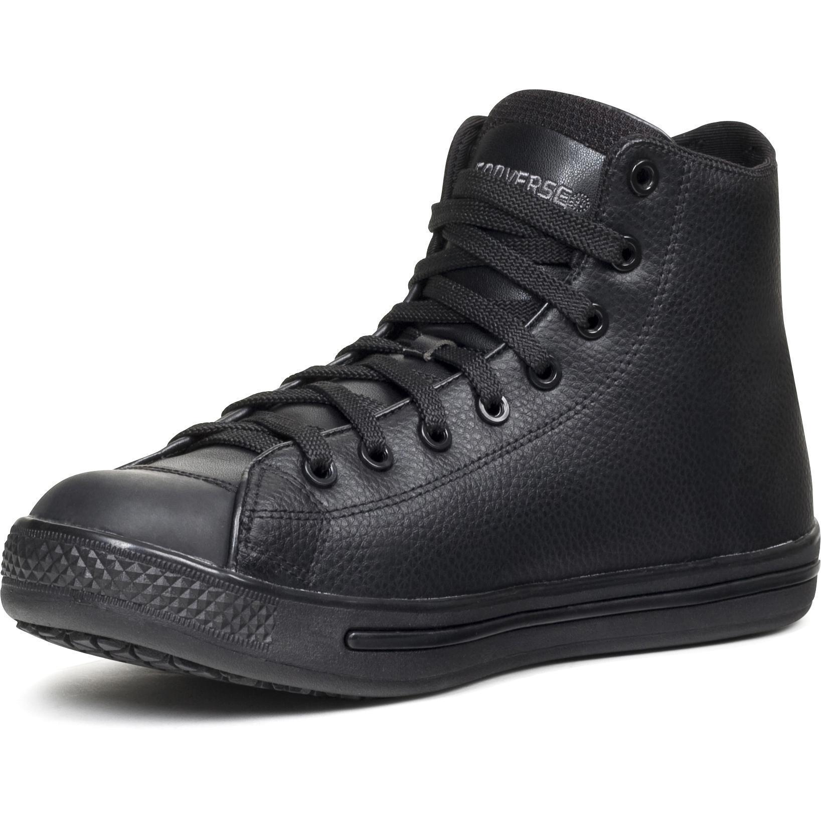 converse slip resistant hi top lehigh safety shoes