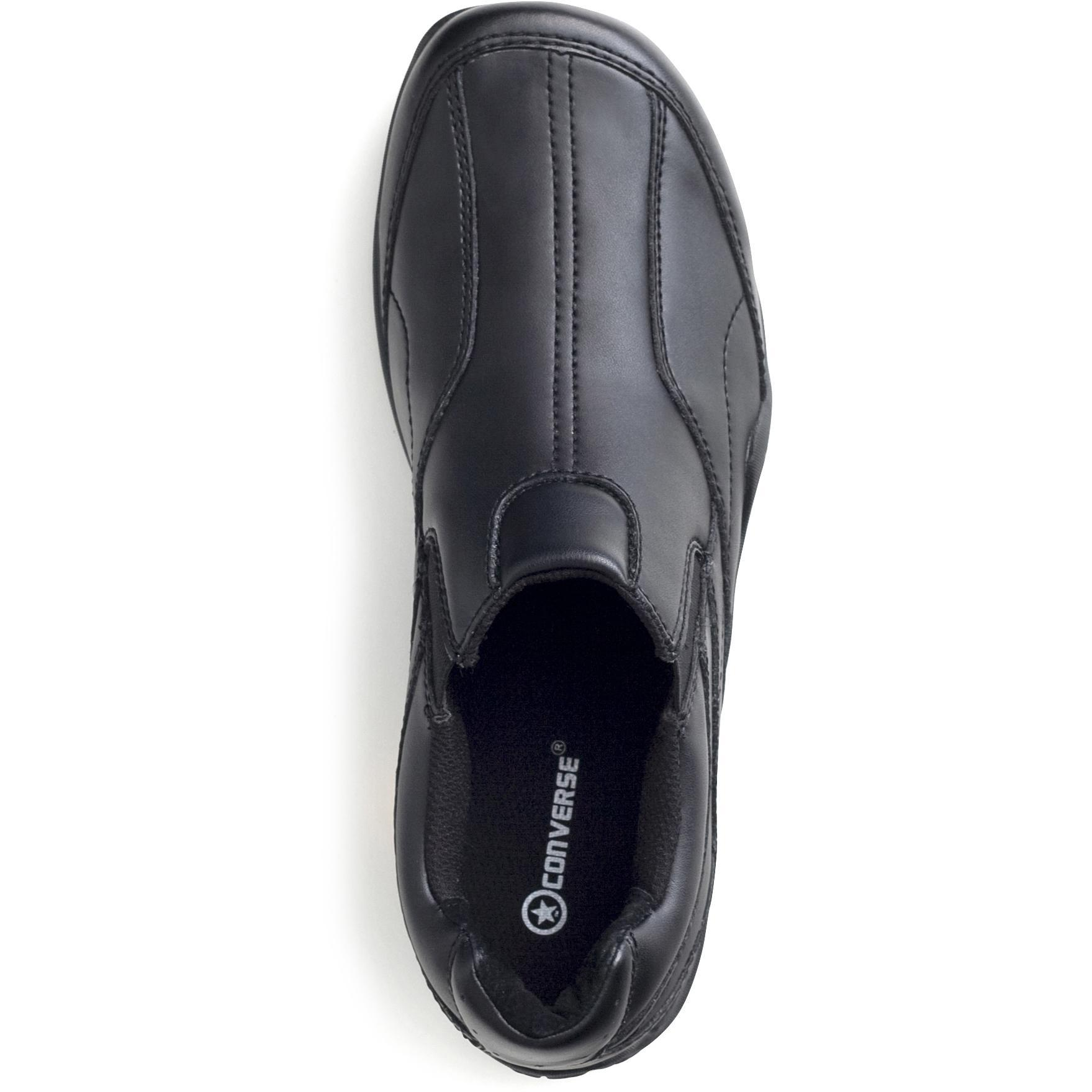 converse slip resistant slip on work shoes lehigh safety